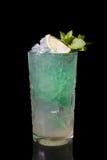 Зеленый коктеил спирта Стоковое Фото