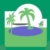 Зеленый конспект Стоковое Изображение RF