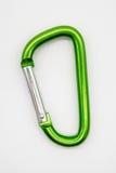 Зеленый крюк кнопки алюминия металла Стоковые Фотографии RF
