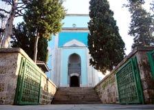 Зеленый мавзолей (Yesil Turbe) стоковые фотографии rf