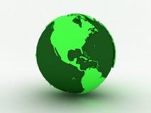 Зеленый мир Америка иллюстрация штока