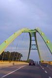 Зеленый мост стоковое фото