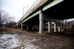 Зеленый мост Стоковые Фотографии RF