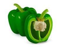Зеленый перец колокола Стоковые Фото