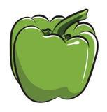 Зеленый перец Стоковая Фотография