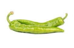 Зеленый перец chili Стоковые Изображения RF