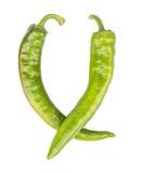 Зеленый перец chili Стоковая Фотография RF