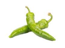 Зеленый перец chili Стоковые Изображения