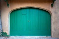 Зеленый портал Стоковая Фотография