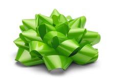 Зеленый присутствующий смычок Стоковые Изображения RF