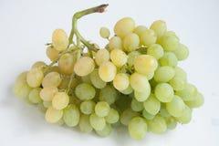 Зеленый пук виноградины изолированный на белой предпосылке Стоковое Изображение RF