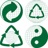 Зеленый пункт Стоковое Изображение