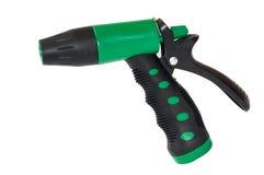 Зеленый пластичный спрейер для сада Стоковое Фото