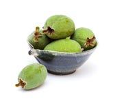 Зеленый плодоовощ feijoa Стоковая Фотография