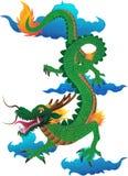 Зеленый дракон Стоковое фото RF