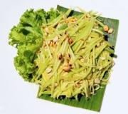 Зеленый салат мангоа Стоковая Фотография RF