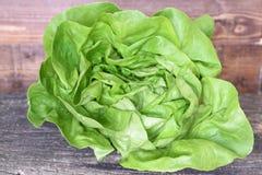 Зеленый салат на старой доске Стоковое Фото