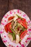 Зеленый салат папапайи стоковые изображения