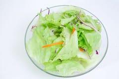 1 зеленый салат Стоковое Изображение