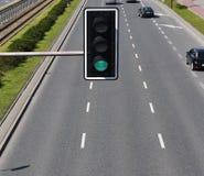 Зеленый светофор Стоковая Фотография RF