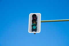 Зеленый свет семафора дальше Стоковые Фото