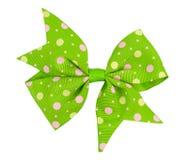 Зеленый смычок Стоковые Изображения RF