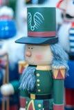 Зеленый солдат Щелкунчика Стоковое Изображение