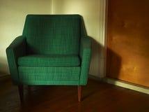 Зеленый стул стоковое фото rf