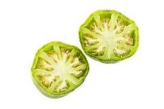 Зеленый томат сердца вола Стоковые Фотографии RF