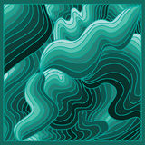 Зеленый том предпосылки Стоковое Изображение