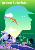 Зеленый туризм Стоковое фото RF