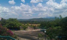 зеленый холм Стоковое фото RF