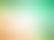 Зеленый цвет абстрактного градиента оранжевый покрасил запачканную предпосылку Стоковые Изображения