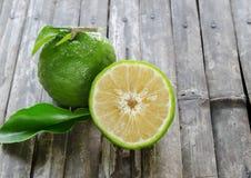 Зеленый цвет апельсинов Стоковые Изображения RF