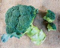 зеленый цвет брокколи свежий Стоковые Фотографии RF