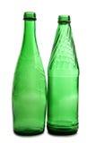 зеленый цвет бутылочного стекла Стоковые Фото