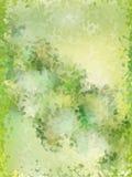 Зеленый цвет выходит картина. EPS 10 Стоковая Фотография
