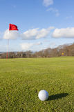 Зеленый цвет гольфа Стоковые Изображения RF