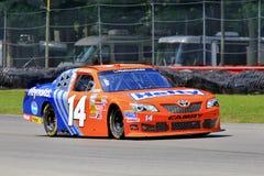 Зеленый цвет Джеф водителя автомобиля NASCAR Стоковая Фотография RF