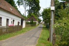 Зеленый цвет деревни Стоковое Изображение