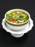 зеленый цвет карри цыпленка тайский Стоковые Фото