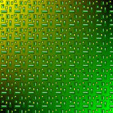 Зеленый цвет картины желтый иллюстрация вектора