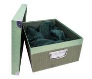 Зеленый цвет коробки Стоковое Изображение RF