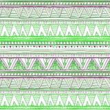 Зеленый цвет красочного вектора предпосылки картины диаманта ikat ткани безшовного этнический безшовный Стоковое Изображение RF