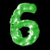 Зеленый цвет молока 6 Стоковое Изображение