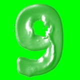 Зеленый цвет молока 9 Стоковая Фотография RF