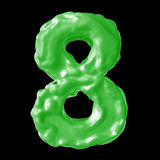 Зеленый цвет молока 8 Стоковые Фотографии RF