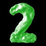 Зеленый цвет молока 2 Стоковые Фотографии RF