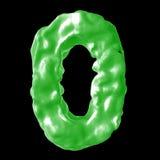 Зеленый цвет молока 0 Стоковое Фото