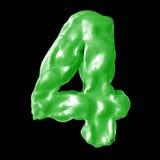 Зеленый цвет молока 4 Стоковые Изображения RF